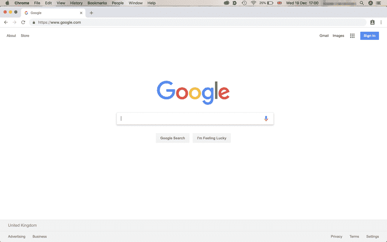 Google Chrome pour Mac