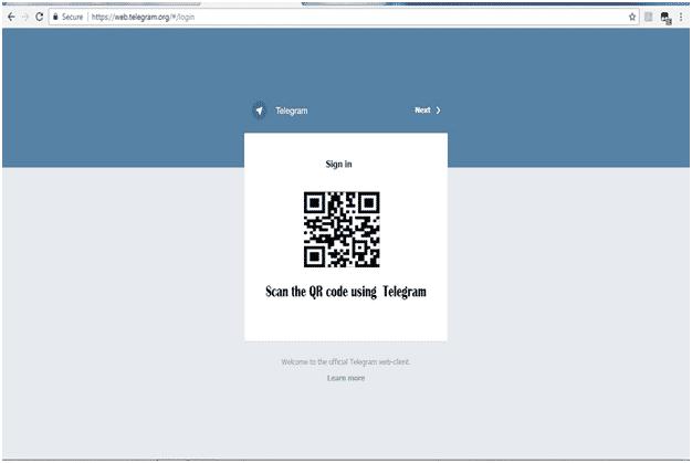 telegram barcode