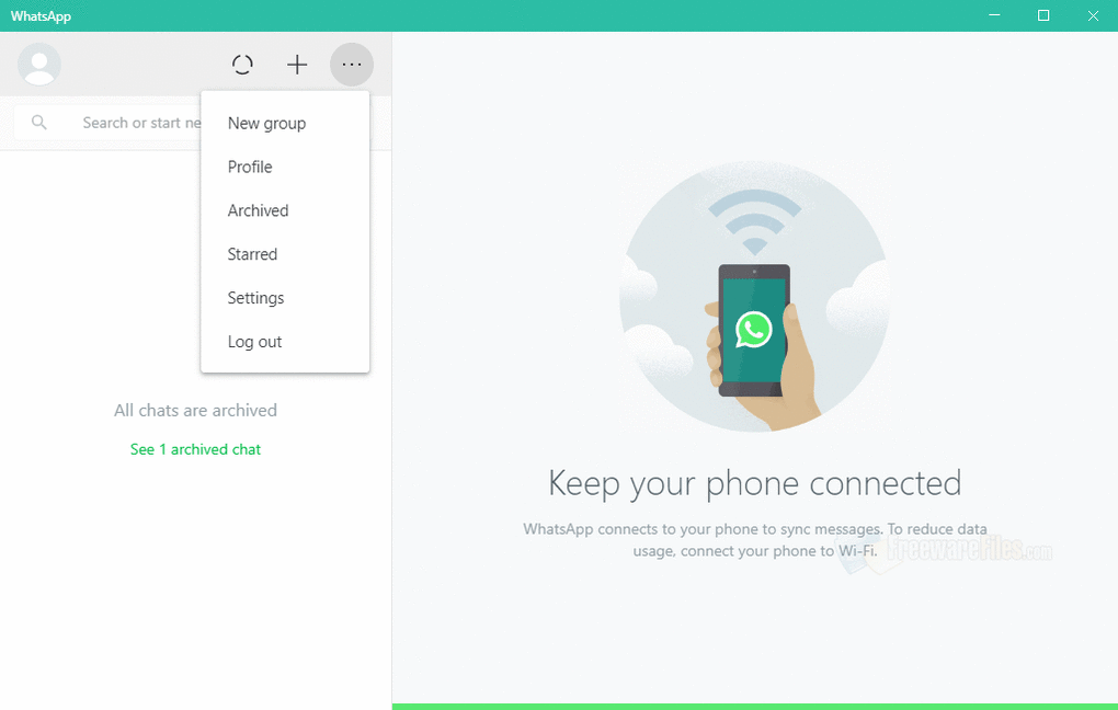 WhatsApp Desktop for PC Download (2020) Windows (7/10/8), 32/64-bit