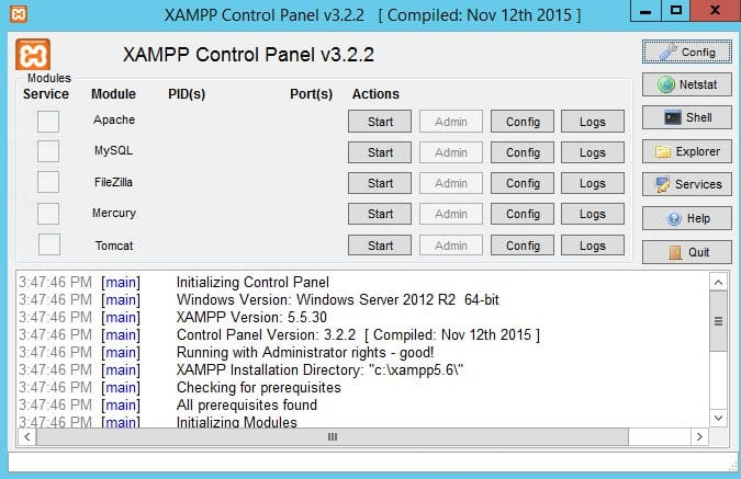 xampp-windows