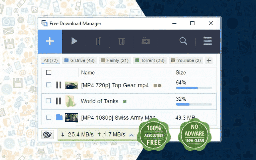 Free Download Manager 1