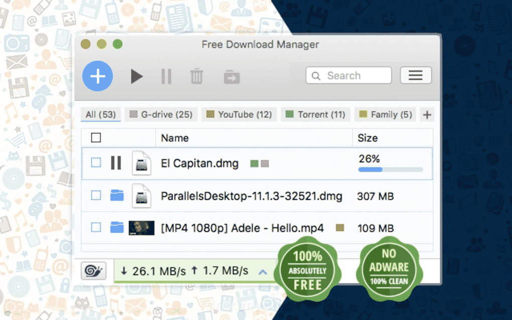 Free Download Manager 3
