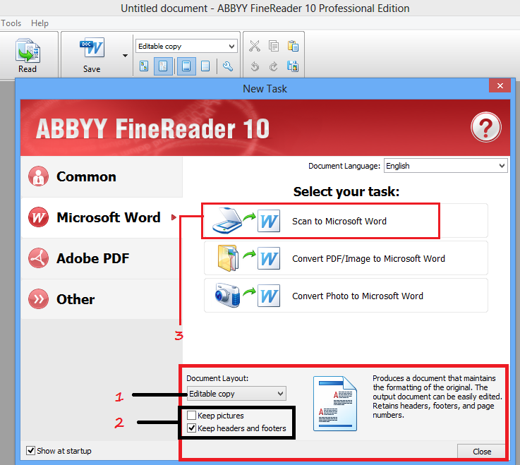 ABBYY FineReader for PC