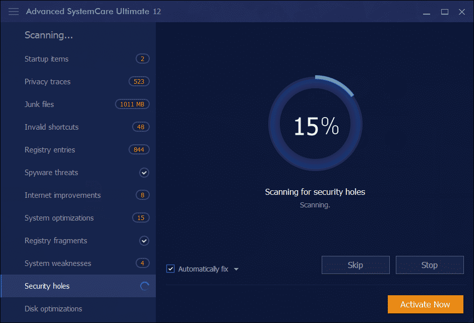 Advanced SystemCare for PC