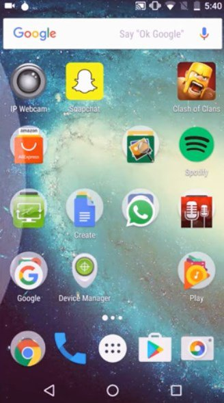 go-launcher-android