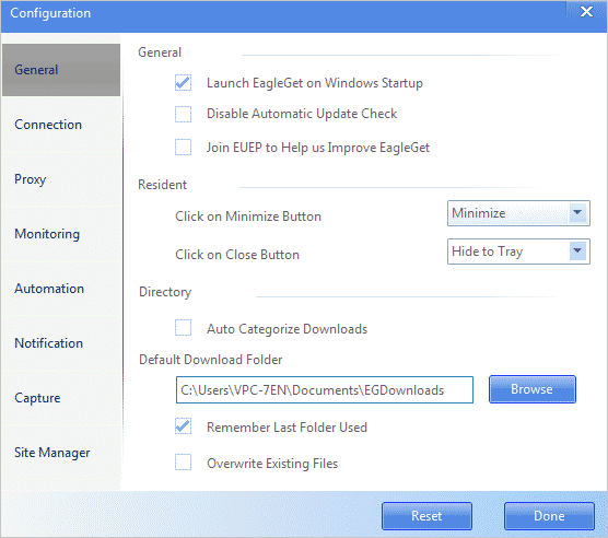 EagleGet PC Downloader