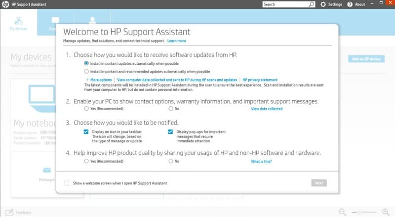 hp-support-assistant-pc