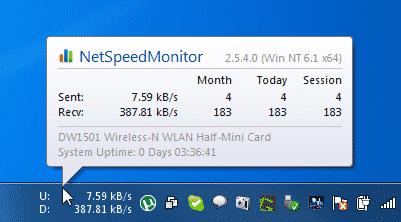netspeedmonitor-free