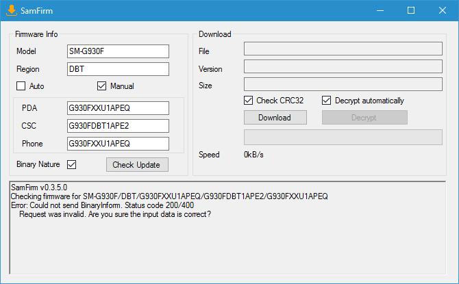 Download samfirm v0.3.6