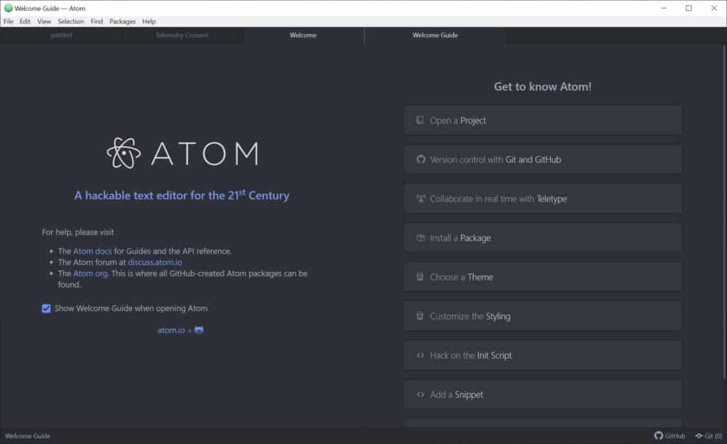 atom-free