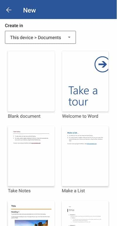 microsoft-word-Android-Download